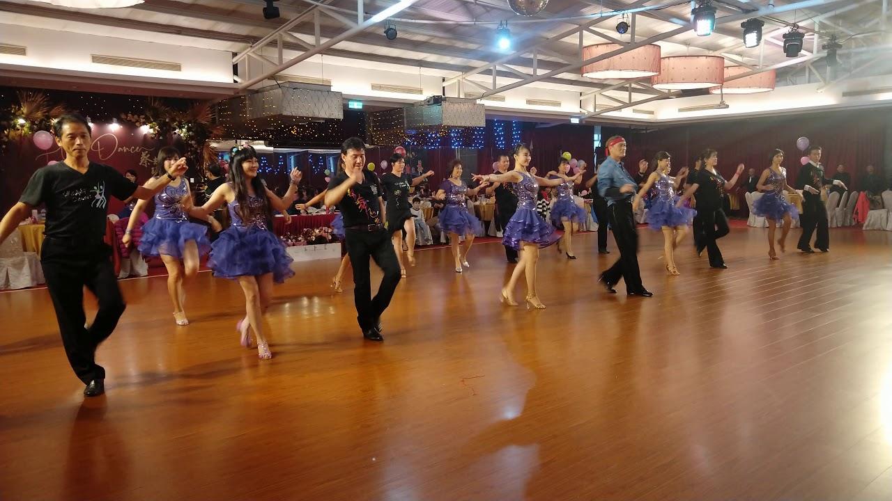 森巴舞歡樂 蔡輝煌 和快樂舞者 在 龍潭生生圓迎新大舞會 共舞美麗人生 - YouTube