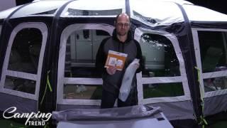 Das Innenleben der Schläuche  bei einem Kampa Luft-Vorzelt