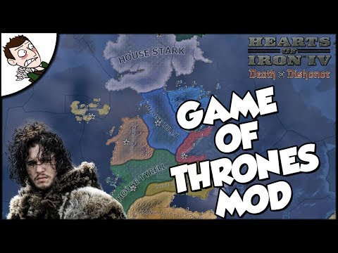 HEARTS OF ICE & FIRE! GAME OF THRONES MOD - Hearts of Iron 4 HOI4 Gameplay