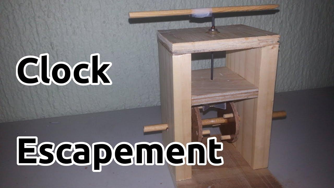 Clock Escapement Mechanism Doovi