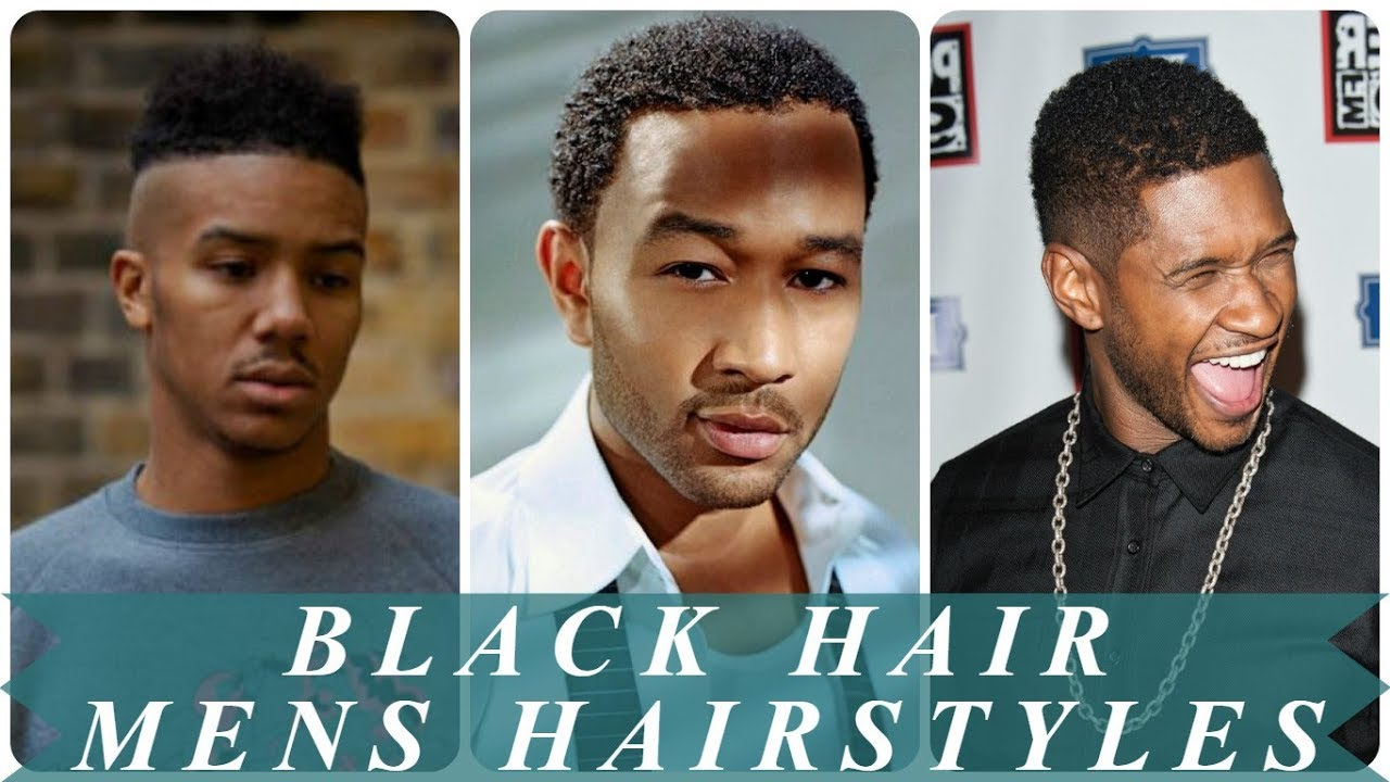 Top 20 Best Hairstyles For Black Men With Short Hair Youtube