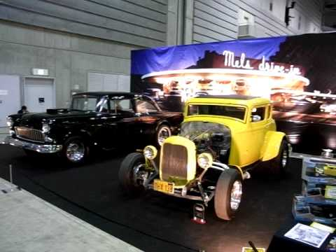 『american Graffiti』 32 Ford Deuce Coupe 55 Chevy 210