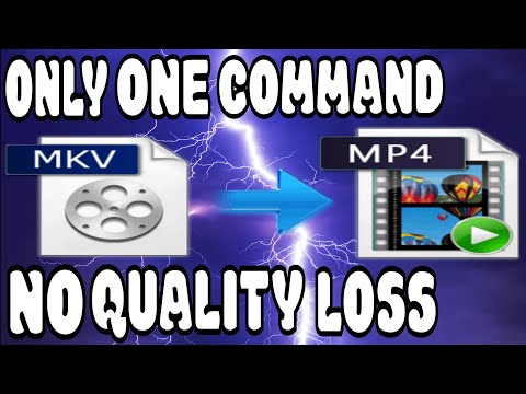 MKV To MP4 Converter PC - Free Software - No Re-Encoding Or Quality Loss - Convert In Seconds - 2020