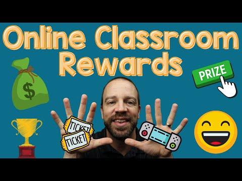 Online Teaching Student Rewards Positive Reinforcement Ideas