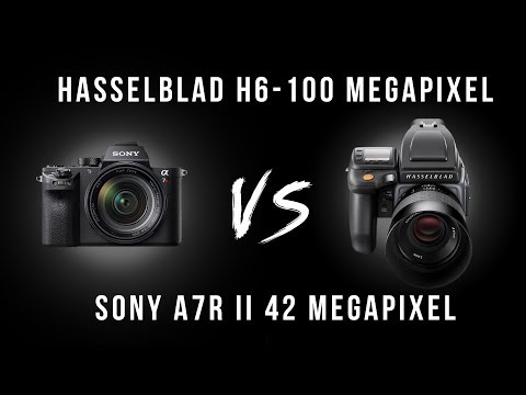 Hasselblad H6 versus H5 versus Sony A7Rii Camera test. Camera test by Karl Taylor 📷.