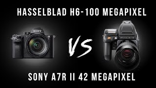 Hasselblad H6 versus H5 versus Sony A7Rii Camera test. Camera test by Karl Taylor
