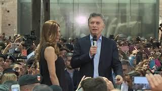 Reconocimiento del presidente Macri al personal que trabajó en la organización del G20