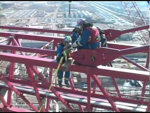 Dismantling the World's Largest Tower Crane