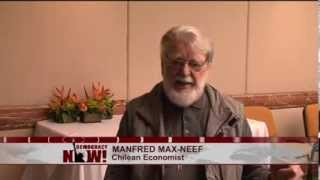 Chilean Economist Manfred Max-Neef on Edward Snowden