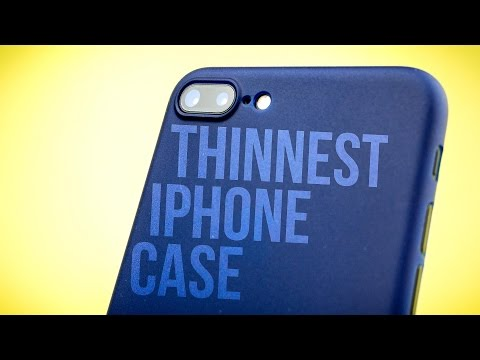 Thumbnail: Totallee The Scarf Case for iPhone 7 Plus - Review - Matte black to jet black?