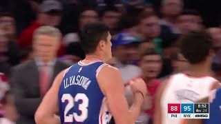 Ersan İlyasova'nın New York Knicks maçı performansı: 9 sayı, 8 rbd, 3 ast, 1 tç