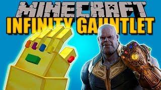 INFINITY GAUNTLET MOD - El guante de Thanos (Avengers) - Minecraft mod 1.8.9, 1.7.10 Review