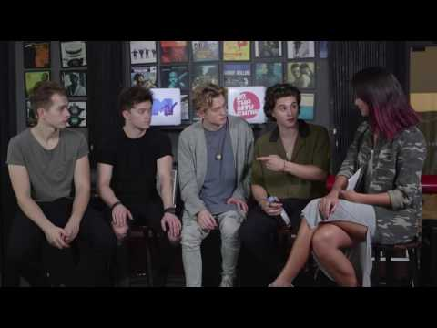 The Vamps Interview with VJ Hanli