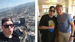 BOVENOP DE MAZE BANK & VENICE BEACH FIETSEN! - Jan in Los Angeles #2