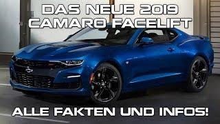 Das neue 2019 Camaro Facelift - Alle Fakten und Infos!