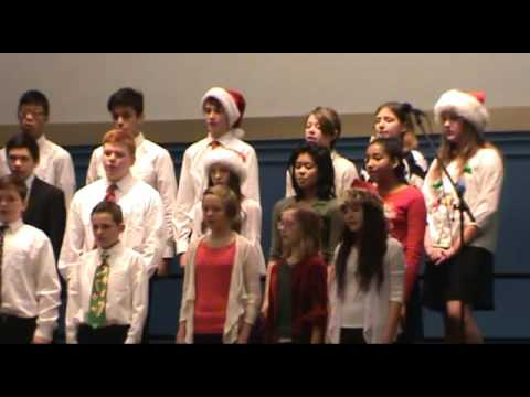 7th & 8th Grade Choir performances at Huron Valley Catholic School Christmas Concert December 22'16