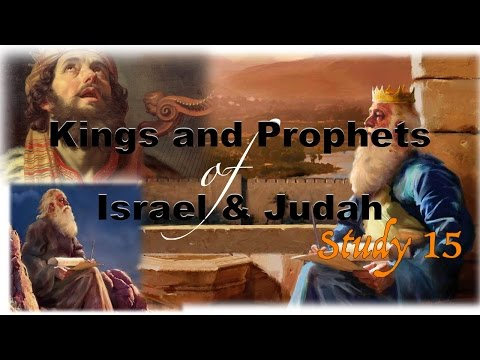 Study 15   Manasseh – Babylonian apostasy in Judah and reform – Pattern for the nation