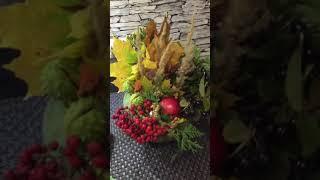 Поделка в сад на тему осень