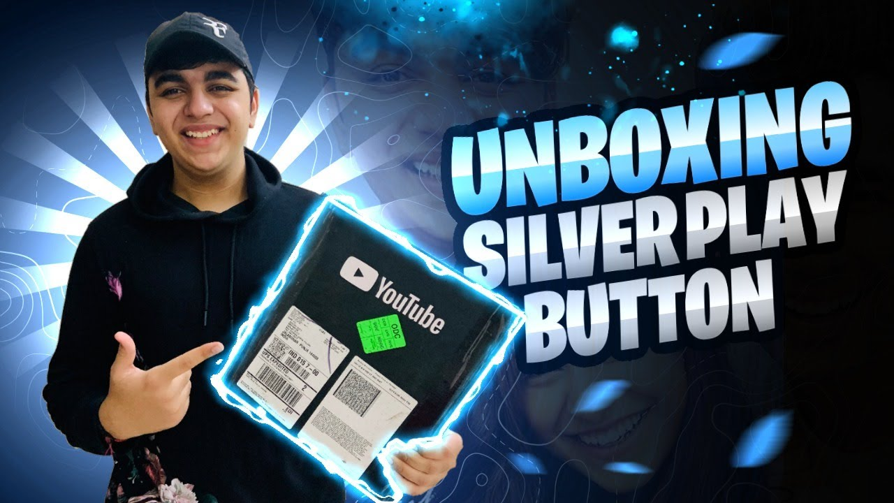 UNBOXING SILVER BUTTON!!!