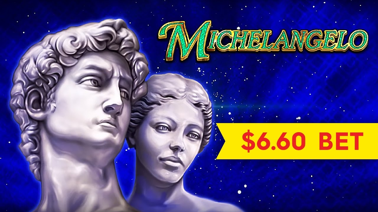 Michelangelo slot machine