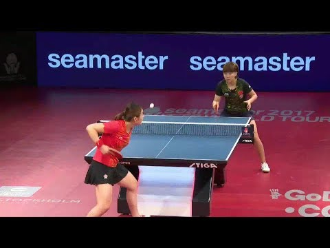 2017 Swedish Open (WS-QF) CHEN Meng Vs CHEN Xingtong [Full Match/English|1080p]