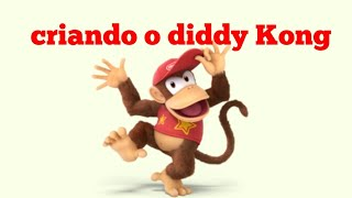 Criando o diddy Kong no Roblox!!!!!!!