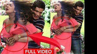 Priyanka Chopra LATEST Wardrobe Malfunction with Adam Devine Grabbing her BOOBS | Isn't it Romantic