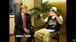 donald trump interviewed by ali g