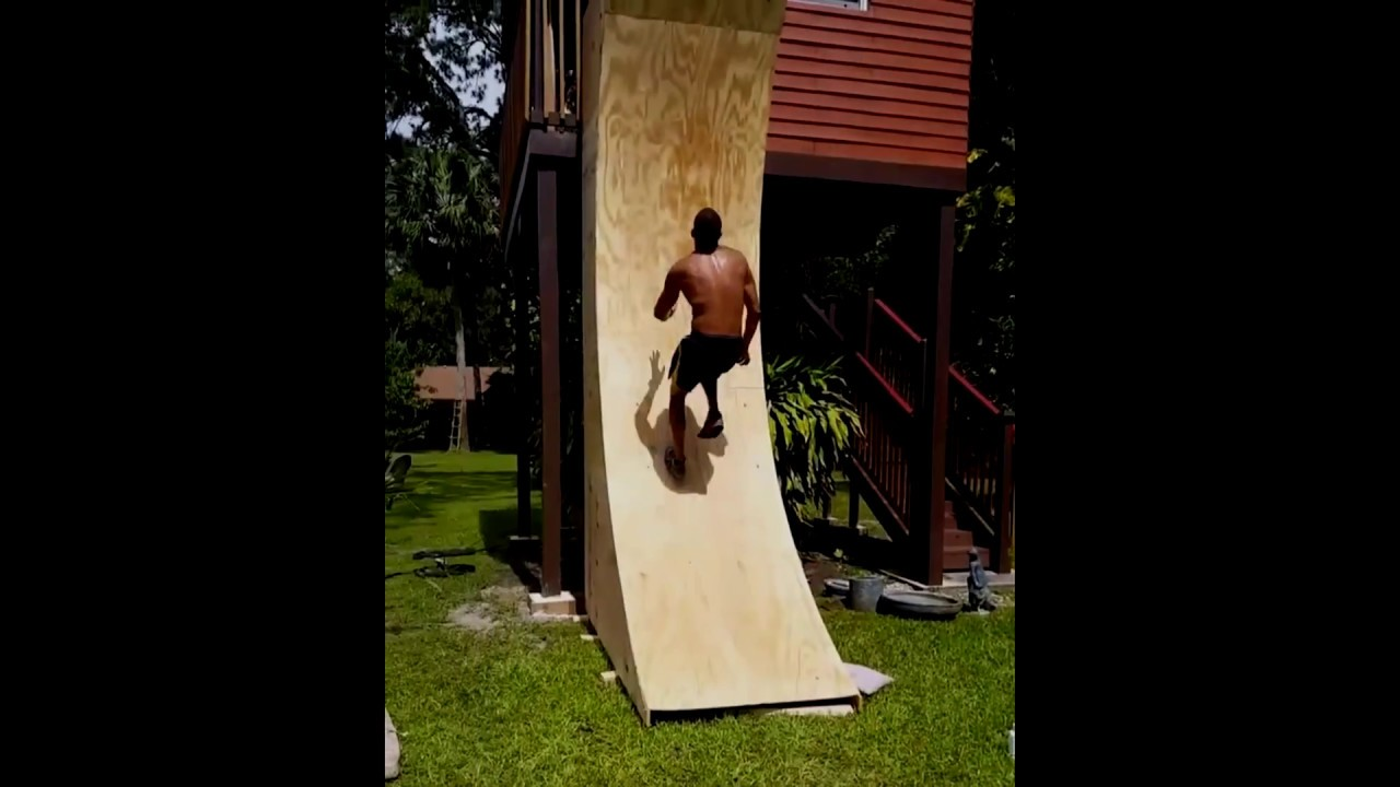 This Is How To Make American Ninja Warrior Warped Wall By The Dentist Season 8 Competitor
