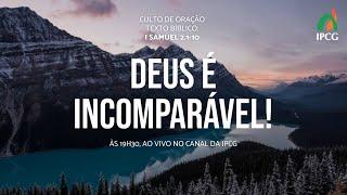 CULTO DE ORAÇÃO - 29/09/2020