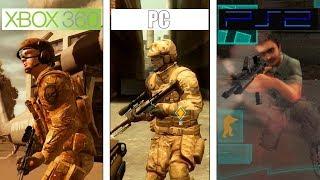 Ghost Recon Advanced Warfighter | PS2 vs PC vs 360 | Graphics Comparison
