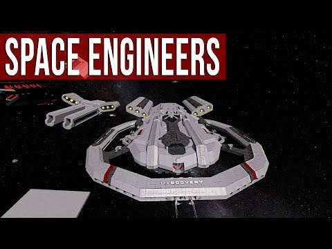 Space Engineers - Ship Building & Design!