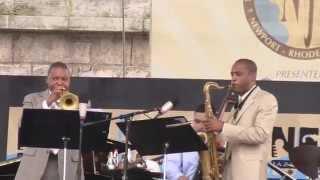 Newport Jazz Festival 2011: Wynton Marsalis - last 18 min