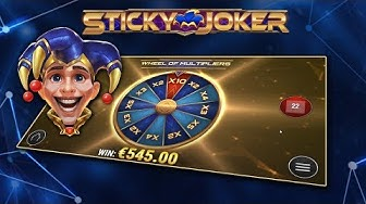 STICKY JOKER (PLAY'N GO) ONLINE SLOT