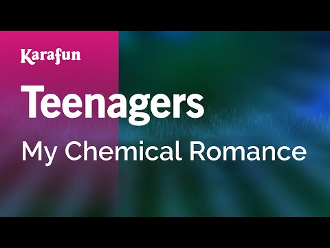 Karaoke Teenagers  My Chemical Romance *
