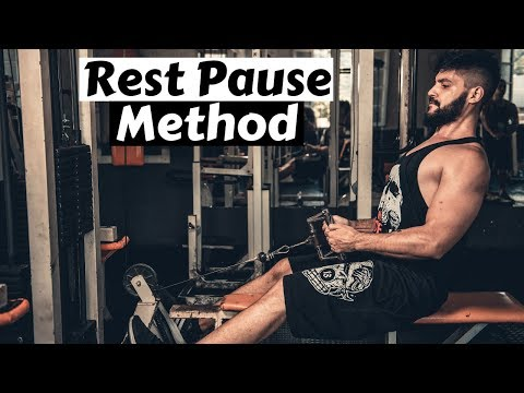 Make use of the Rest-Pause Way Of More Gains a lot sooner