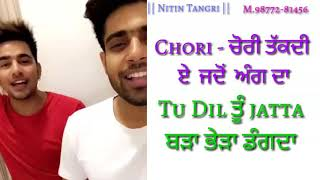||JATTI NE|| NEW SONG BY ||GURI & JASS MANAK|| EDIT BY NITIN TANGRI