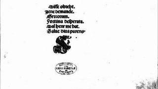 Jacob Obrecht - Missa Fortuna Desperata - III Credo