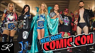WWE Cosplay TAKEOVER!!! | New York Comic Con 2018 Highlights