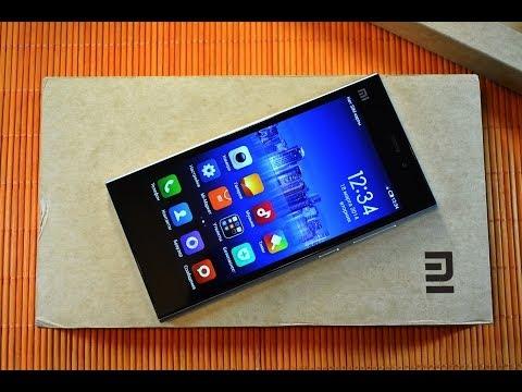Распаковка Xiaomi Mi3 со Snapdragon 800