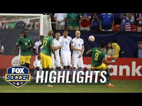 USA vs. Jamaica  2015 CONCACAF Gold Cup Highlights
