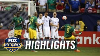 USA vs. Jamaica - 2015 CONCACAF Gold Cup Highlights