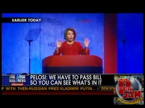 """Pelosi: """"We Have to Pass the Bill So That You Can Find Out What Is In It"""""""