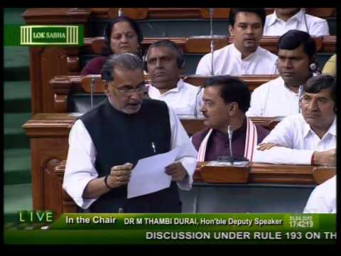 0f8cd173d5c0 Discussion Under Rule 193 on the Agrarian situation in the country  Shri  Radha Mohan Singh - YouTube