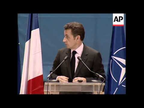Sarkozy confirms increased French deployment to Afghanistan