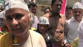 Medha Patkar on campaign trail