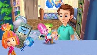 Kids'Corner/Детский уголок Фиксики - Сотовый телефон Познавательное видео для детей Фикси книжки
