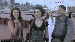 Resident Evil:Afterlife - Funny (Смешные Моменты со съемок)