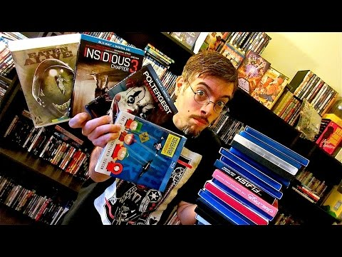 My Blu-Ray Collection Update 9/27/15 - Blu ray and Dvd Movie Reviews