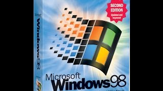 Windows 98 Second Edition with Microsoft Plus 98! German in Virtual PC 2007